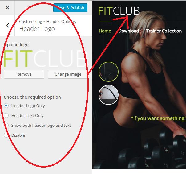 FitClub Header Logo