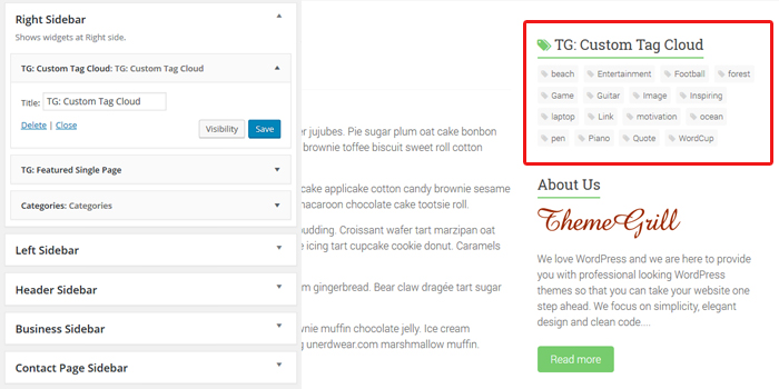 business-custom-tag-widget
