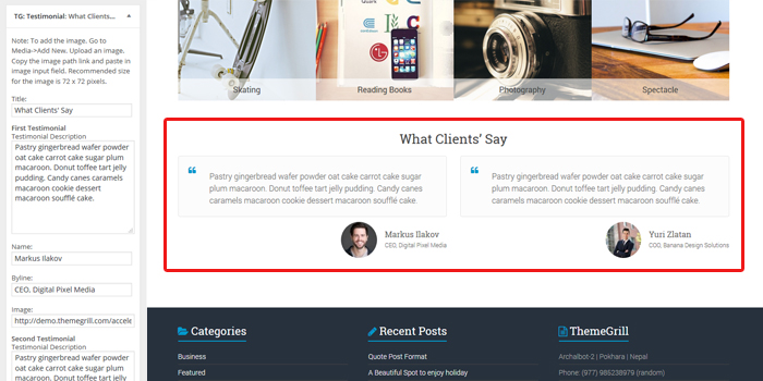 business-testimonials-widget