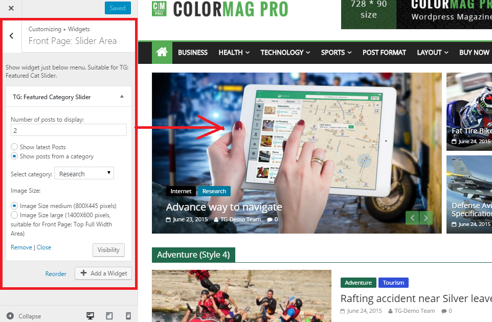 ColorMag – ThemeGrill Docs