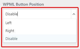 WPML Button
