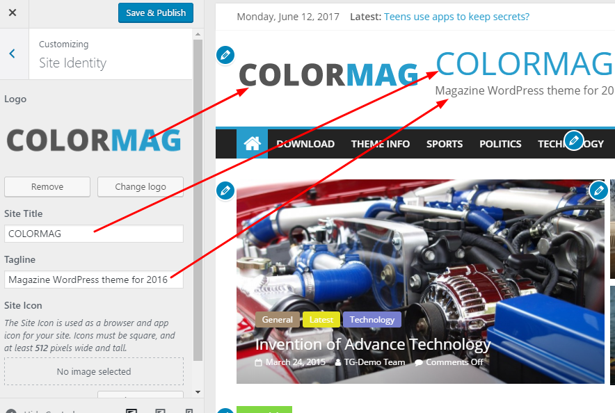 ColorMag instruction header logo